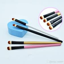 whole new super soft professional makeup eyebrow brush eyeshadow blending angled brush estic make up tool cosmetic brands elf cosmetic from cinda03