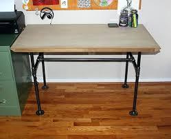 diy desk cost. Diy Pipe Desk Industrial Wwwvanillaandvelvetcom Making A Lamp . Cost