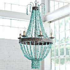 turquoise beaded chandelier design small turquoise beaded chandelier