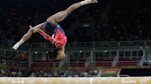 vault gymnastics gabby douglas. Gabby Douglas Performing Vault Gymnastics At Rio Olympics 2016 V