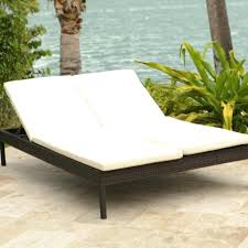 Chaise Classic Wicker Double Chaise Lounge Patio Chairs Solana