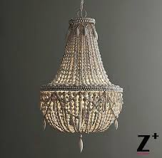 weathered wood chandelier replica item style large chandelier weathered white wood bead lights free in weathered wood chandelier