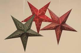 Papierstern Stern Rot Grün Glitzer ø 72 Cm Weihnachtsstern Rf52 Sale