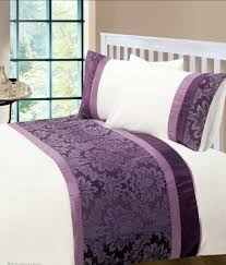 baby nursery lovable luxury duvet covers aubergine colour modern stylish damask bedding quality quilt cover