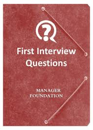 the manager foundation library manager foundation good first interview questions to quickly filter and eliminate job candidates