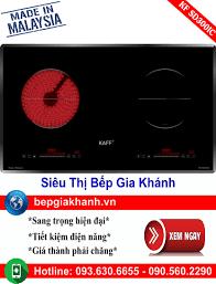⭐Bếp từ kết hợp hồng ngoại Kaff KF IC3801 nhập khẩu Malaysia bếp điện từ bếp  điện từ đôi âm bếp điện từ đôi bếp điện từ đôi đức bếp điện từ