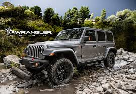 2018 jeep lifted. delighful lifted just another render of 2018 jeep wrangler jlu rubicon we guess that  for jeep lifted