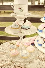 DIY Cup Cake Stand! This was fun to make. This is made up of