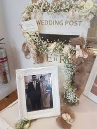 How To Decorate A Wedding Post Box Personalised Rustic Wooden Wedding Card Post Box Vintage Wedding 23