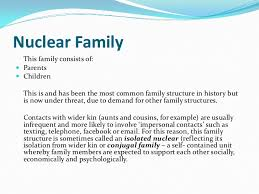 as sociology issues of family diversity nuclear family<br