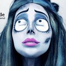 corpse bride emily makeup tutorial by jen pike