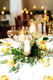 simple wedding centerpieces for round tables image of table candle uk roun
