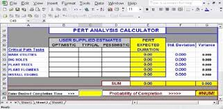Elegant Download Free Excel Pert Chart Templates For Project