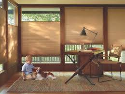office for home. Duette Architella Honeycomb Shades In A Home Office - Buy At Look Thru Inc Toronto For