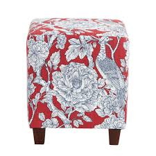 Ballard Designs Footstools The Cooper Cube Ottoman In Richmond Red Ads A Much Needed