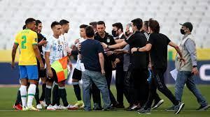 Brazil vs. Argentina suspended after ...