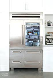 glass front fridge. Sub Zero Glass Front Refrigerator Fridge Freezer Combo Pro Door . Vignette Design Inspiration Refrigerators