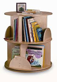 Carousel Display Stand Delectable Amazon Whitney Brothers Two Level Carousel Book Stand Kitchen
