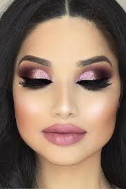 all the things which are used for blending and hidins from your skin like foundation and concealer should be free from shine and glitter if you will