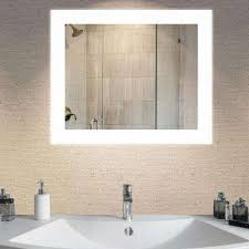 bathroom mirrors with lights in them. LED Wall Mounted Backlit Vanity Bathroom Mirror Mirrors With Lights In Them