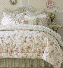 Laura Ashley Yorkshire Rose 4-piece Comforter Set-King | Vintage ... & Laura Ashley Yorkshire Rose 4-piece Comforter Set-King Adamdwight.com