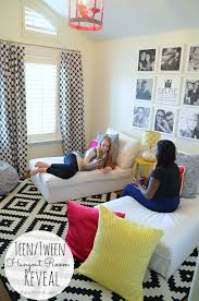 themed kids room designs cool yellow: teen tween hangout room reveal inawaverlyworld tatertots and jello middot tween hangout room ideasteen
