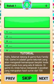 6 sd/mi dan kunci jawaban ini para siswa akan lebih semangat lagi dalam belajar demi meraih prestasi soal uts pjok kelas 6 semester 2 k13. Family 100 Indonesia Artis Kuis 2018 For Android Apk Download