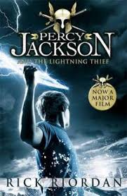 percy jackson and the lightning thief rick riordan book in paperback book people