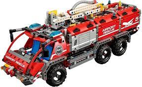 Lego Technic 42068 Airport Rescue Vehicle Building Kit Alza Co Uk