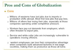 anti globalization another type of globalization ppt video pros and cons of globalization