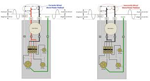 wiring diagram shore power pedestal electrical work wiring diagram \u2022 30 Amp RV Wiring how do you know if you have a dangerous miswired power pedestal rh rvtravel com 30 amp shore power wiring diagram shore power panels