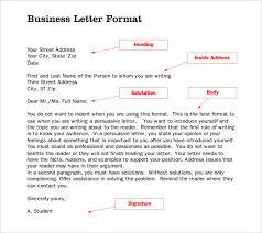 Letter Format Business Template Interesting Doc Templates Net Samples Business Letter Format Formal Letter