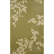 trans ocean marcel vine green indoor outdoor area rug 8 x 10