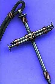 nail cross pendant craft love this