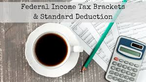 2019 Irs Federal Income Tax Brackets And Standard Deduction