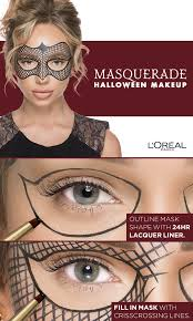 l oreal paris masquerade makeup tutorial using infallible 24hr lacquer liner the link for a video tutorial by liza lash