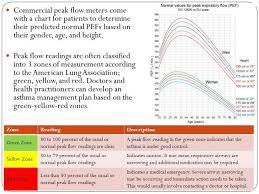 Peak Flow Metre Chart Peak Flow Meter Zone Chart Www Bedowntowndaytona Com