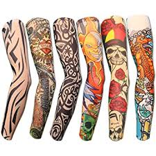 See more ideas about arm band tattoo, band tattoo, sleeve tattoos. Amazon Com Hoveox 20pcs Temporary Tattoo Arm Sleeves Arts Fake Slip On Arm Sunscreen Sleeves Body Art Stockings Protector Designs Tribal Tiger Dragon Skull And Etc Unisex Stretchable Cosplay Accessories Home Improvement
