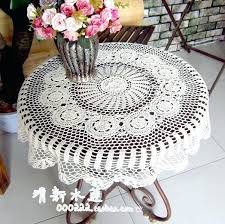 small round tablecloth style water handmade crochet small round table cloth reminisced vintage cotton tablecloth circle