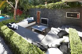 exterior contemporary wall stone also dressy table design