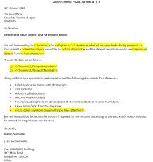 Visa Application Cover Letter How To Write A Visa Covering Letter Schengen Or Others