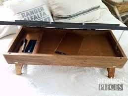 inside diy folding lap desk from upcycled materials by prodigal pieces prodigalpieces com