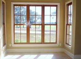 Brown Trim Paint Interior Outstanding Picture Of Solid Light Oak Wood Window