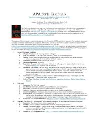 Apa Dissertation Slide Format 6th Edition Reference Citation