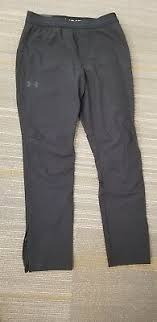 Under Armour Mens Tech Tapered Leg Heat Gear Pants Teal