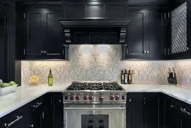 kitchen wallpaper ideas bq white marble pattern granite milky fl cube silver stainless steel free standing