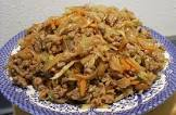 asian skillet cabbage