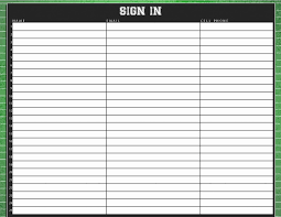 Customer Sign In Sheet Template Fresh Signing Sheet Idealstalist ...