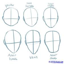 how to draw anime heads step by step for beginners. Interesting Step Animestepbystepdrawinghead  How To Draw Manga Heads Step By Step Anime  Anime  To Heads By For Beginners
