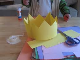 Construction Paper Crowns I Would Buy Some Jewels To Put On